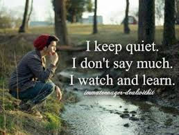 Quiet Quotes Stunning 48 Best Quotes About Quiet Quiet Quotes QuotesOnImages