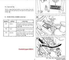 bobcat 743 742 741 skid steer loader shop service manual parts below is the bobcat 743 operator s manual