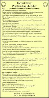 best proofreading for teachers images  basic essay proofreading checklist could make into a rubric