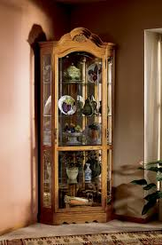 curio cabinet come with single glass door cabinet smlfimage source