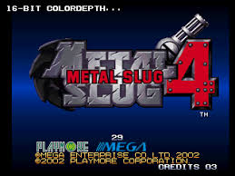 Metal Slug 4 (Mame)