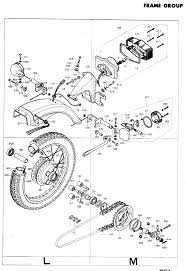 exploded views parts list into com vintage honda motorcycle advertisements