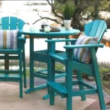 plastic outdoor chairs round table and