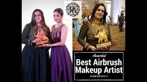 parul garg best airbrush makeup artist in delhi by malaika arora