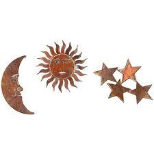 3d sun moon stars metal wall art by next innovations on sun moon 3d metal wall art with 3d sun moon stars metal wall art by next innovations walmart