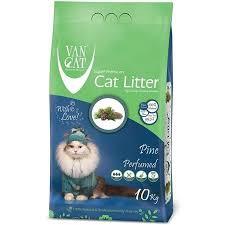 <b>Van Cat Pine</b> Комкующийся <b>наполнитель</b> без пыли с ароматом ...