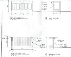Standard Base Cabinet Dimensions Standard Kitchen Cabinet Sizes Chart Kitchen Trends