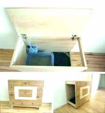 wooden litter boxes modern cat box furniture decoration ikea diy cabinet crown products espresso furnit