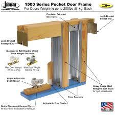 pocket door frame 1530 kit 2x4 wall