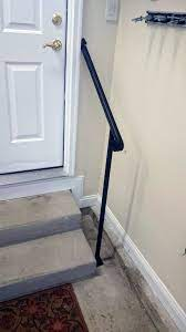They can be cut to shorter lengths. Door 2 Diy Handrails