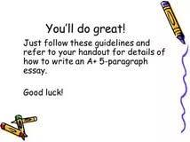 luck essay luck
