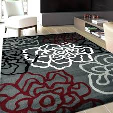 big brown area rug and cream red rugs most