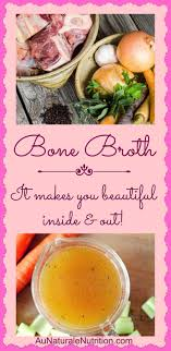 bone broth au naturale
