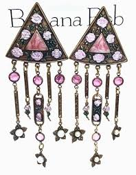 elegant 262 best banana bob vintage jewelry images on antique for clip on chandelier
