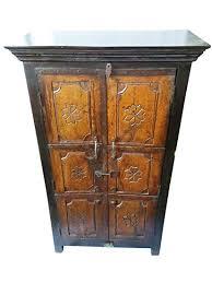 hand carved furniture. Perfect Carved Mogul Interior Antique Indian Cabinet Hand Carved Teak Armoire Vintage  Furniture Storage For