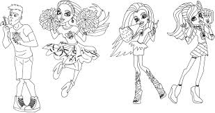 Small Picture Free Printable Monster High Coloring Pages 3423 Gianfredanet