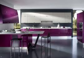 Unique Modern Kitchen Color Schemes In Gallery Ergonomic And Bright For The Design