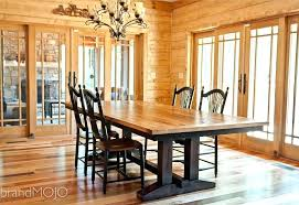 dining tables old barn wood dining tables kitchen table reclaimed farmhouse furniture for