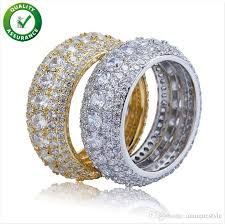 2021 designer jewelry mens gold rings