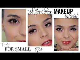 makeup for small eyes mary kay makeup tutorial marykaywednesday