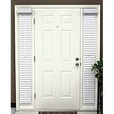 amazon com faux wood sidelight blinds for doors 8 5 w x 72 l 2