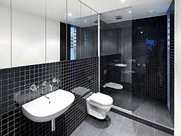 Adorable Black And White Tile Bathroom Small Room Paint Color New ...