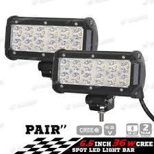 12v led spot lights 2x 36w car 12v led work spot lights spotlight lamp 4x4 van atv offroad suv truck