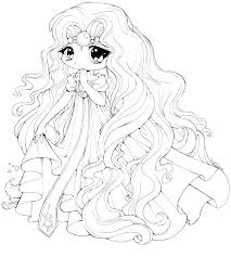 Anime Girl Coloring Pages Coloring Pages Little Girl Cute Anime Girl
