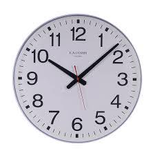 quartz movement plastic case wall clock