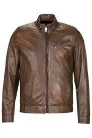 Кожаная <b>куртка JIMMY SANDERS</b> арт JSLJM2008_BROWN ...