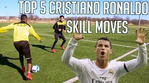 TOP 5 CR7 SKILL MOVES - CRISTIANO RONALDO FOOTBALL ...