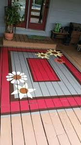 porch and deck paint painted deck rug er than replacing boards exterior deck paint primer