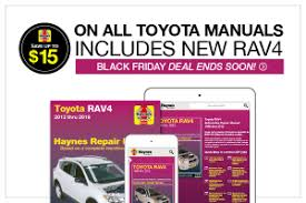 print online toyota car repair manuals haynes publishing