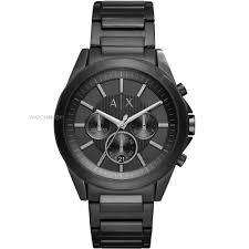 "men s watches buy gents watches online watch shop comâ""¢ mens armani exchange chronograph watch ax2601"