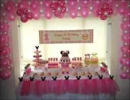 minnie mouse 1st birthday decorating kit