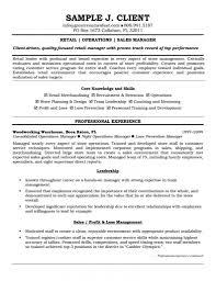 Resume Template Retail Manager Resume Examples Diacoblog Com
