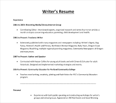 Freelance Photographer Resume Writers Resume Template Sample For ...