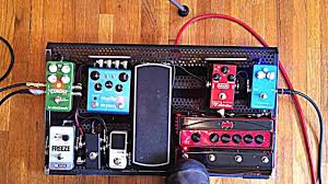 pedalboard a brief overview of a stereo guitar rig guitar pedals destroy cliche guitar you
