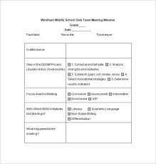 Format To Writing Minutes Meetings Theglobalchallenge Info