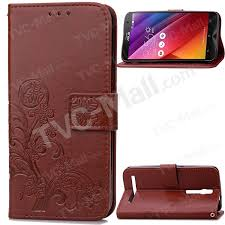 Imprinted Dual Sided Magnetic Wallet Leather Flip Phone Case For