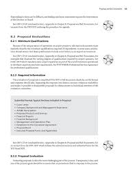 bid proposal forms chapter 8 proposal and bid documents guidebook for developing