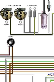 bsa a50 a65 1969 1970 colour electrical wiring diagram bsa a50 a65 1969 1970 colour wiring diagram