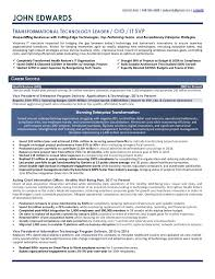 Samples Executive Resume Services
