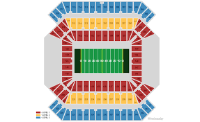 Bucs Seating Chart Tampa Bay Buccaneers Home Schedule 2019 Seating Chart