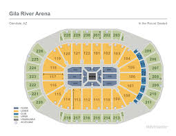 Coyotes Tickets Seating Chart 2019