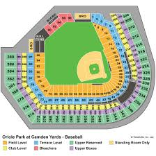 Consol Energy Interactive Seating Chart Camden Yards Seating Chart