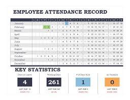 Printable Attendance Calendar Excel Calendar Office Of