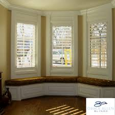 Elegant Bay Window Curtains And Blinds Ideas With Ideas