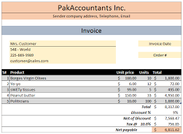 Free Excel Invoice Template Download Free Excel Invoice Template V1 0 With Customer And Product List