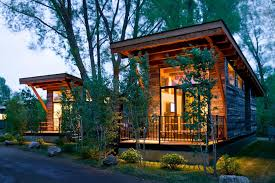 Small House On Wheels Gallery The Wedge A Small Cabin On Wheels Small House Bliss